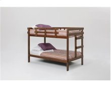 Heartland 2 x 4 Bunk Bed with options: Chocolate, Twin over Twin, 2 Drawer Storage