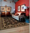 LIVING TREASURES LI05 BLK RECTANGLE RUG 27'' x 18''