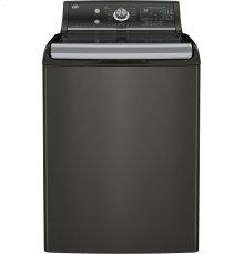 GE® 5.1 DOE cu. ft. capacity washer with SmartDispense™ Technology
