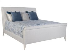 Volutes Queen Upholstered Bed