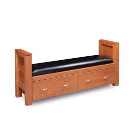 Justine 2-Drawer Santa Fe Bench