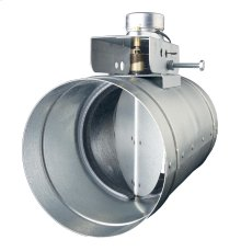 "Universal Automatic Make-up Air Damper for 6"" Duct"