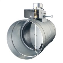"""Universal Automatic Make-up Air Damper for 6"""" Duct"""