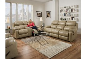 135-30-10  Double Reclining Sofa and Rocking Reclining Console Loveseat     ***TOP GRAIN COWHIDE LEATHER***