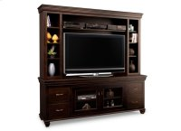 """Provence 84"""" HDTV Cabinet with Hutch (54""""TV Opening) Product Image"""