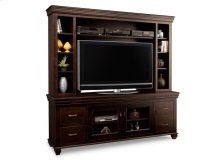 """Provence 84"""" HDTV Cabinet with Hutch (54""""TV Opening)"""
