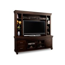 "Provence 84"" HDTV Cabinet with Hutch (54""TV Opening)"