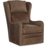 Bradington Young Farrah Swivel Chair 8-Way Tie 347-25SW Product Image