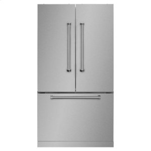"MarvelMarvel Professional 36"" French Door Refrigerator with Bottom Freezer"