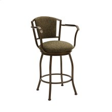 Boise B517H26AS Swivel Back and Arms Bar Stool