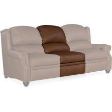Bradington Young Horizon Armless Chair Full Recline w/ Articulating HR 903-33