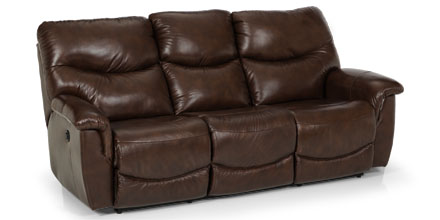 836 Leather Reclining Sofa
