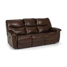 836 Leather Reclining Sofa
