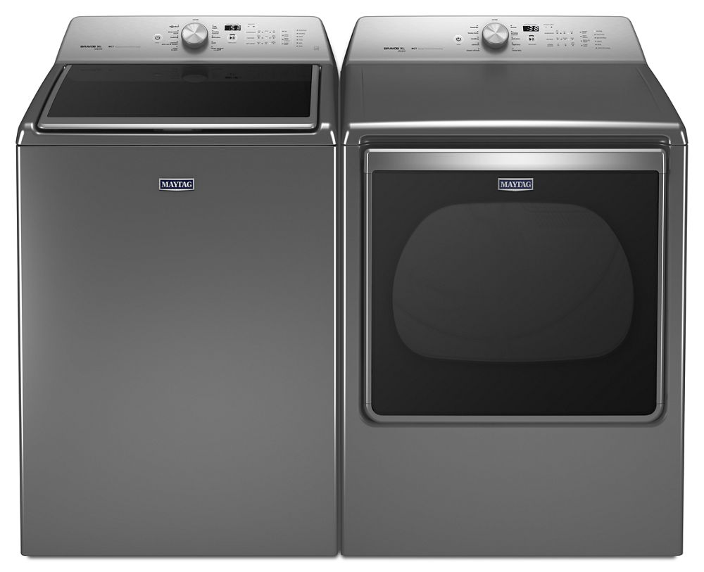 Extra Large Capacity Dryer With Steam Refresh Cycle