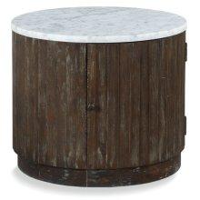 Rustique Drum Table