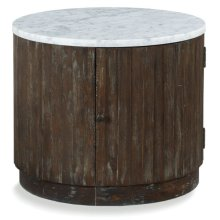 Rustique Drum Table