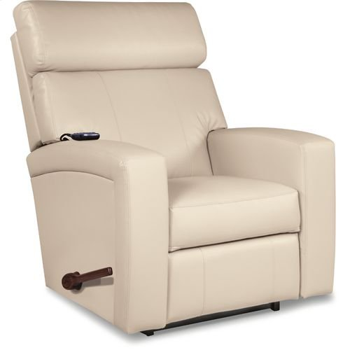 Agent Reclina-Rocker® Recliner w/ Two-Motor Massage & Heat