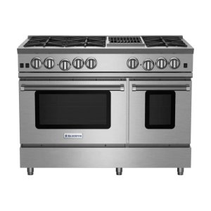 "Bluestar48"" RNB Series Range with 12"" Charbroiler"