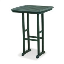"Green Nautical 31"" Bar Table"