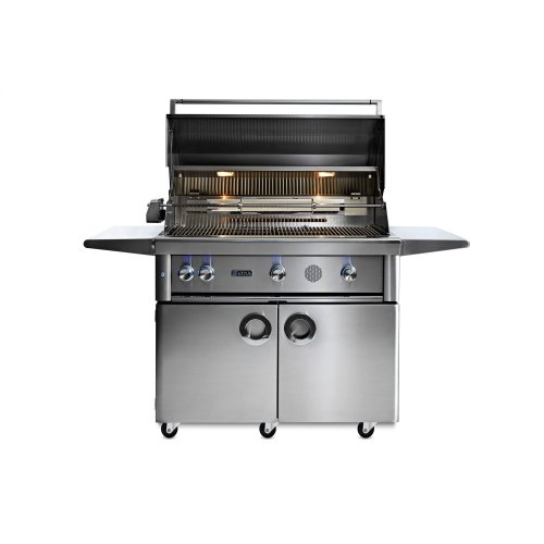 """42"""" Lynx Professional Freestanding Smart Grill with Rotisserie, LP"""
