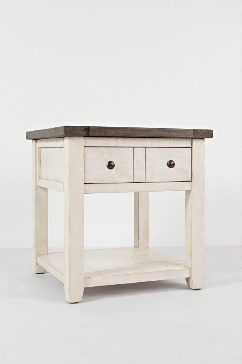 Additional Madison County End Table Vintage White