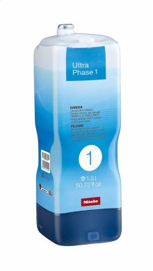 WA UP1 1502 L UltraPhase 1 cartridge, 0.39 gl 2-component detergent for whites and colors.