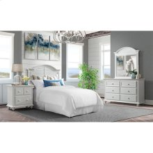 Avon - Two Drawer Nightstand - Cotton Finish
