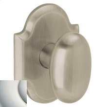 Polished Nickel with Lifetime Finish 5024 Oval Knob