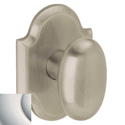 Polished Nickel with Lifetime Finish 5024 Oval Knob
