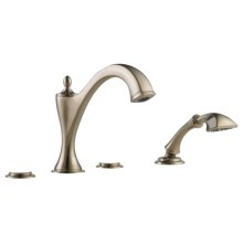Roman Tub Faucet With Handshower - Less Handles