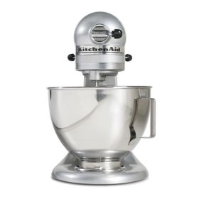KitchenAid® Tilt-Head Stand Mixer - Metallic Chrome
