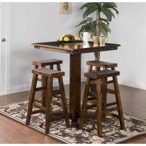 Santa Fe Pub Table W/ Slate Product Image