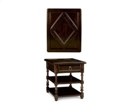 Collection One Lambert End Table - Espresso