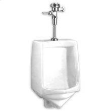 Trimbrook 1.0 gpf Siphon Jet Top Spud Water Saving Urinal - White