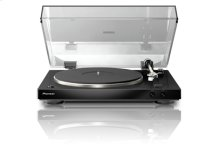 Audiophile Stereo Turntable with Dual-Layered Chassis and Built-in Phono Equalizer