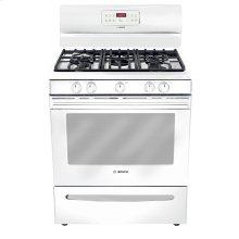 "30"" Gas Freestanding Range 300 Series - White"