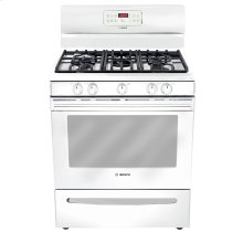 "30"" Gas Freestanding Range 300 Series - White"