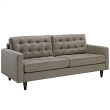 Empress Upholstered Fabric Sofa in Granite