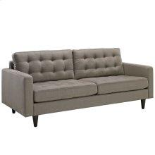 Empress Upholstered Fabric Sofa in Granite
