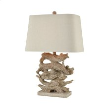 Whitechapel Table Lamp In Parisian Stone