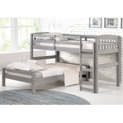3017 Adaptables Grey Universal Youth Bed Program