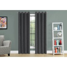 "CURTAIN PANEL - 2PCS / 54""W X 95""H GREY ROOM DARKENING"