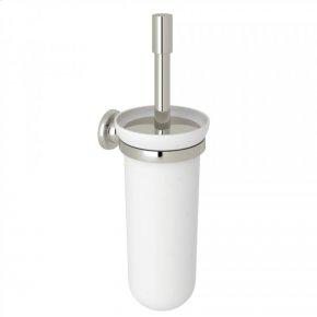 Polished Nickel Perrin & Rowe Holborn Wall Mount Toilet Brush Holder