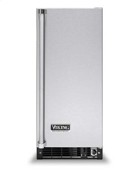 "Stainless Steel 15"" Beverage Center - VUAR (solid door (left hinge))"
