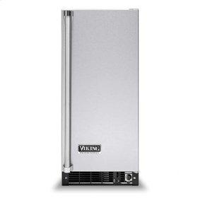 "Stainless Steel 15"" Beverage Center - VUAR (solid door (right hinge))"