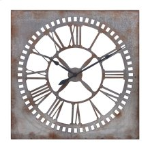 Murphy Galvanized Clock