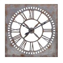 Murphy Galvanized Clock