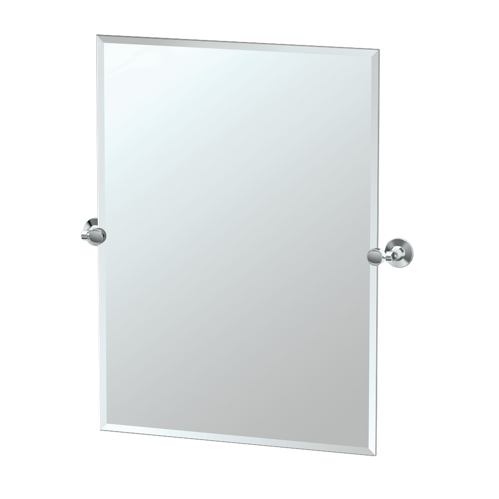 Max Rectangle Mirror in Chrome