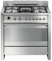 "Free-standing Dual Fuel Dual Cavity ""Opera"" Range Approx. 36"" Stainless Steel"
