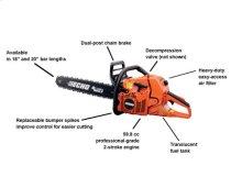 CS-590 Timber Wolf 59.8cc Professional-Grade Chain Saw -